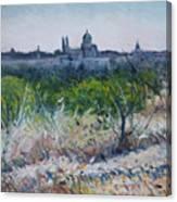 Royal Palace Madrid Spain 2016 Canvas Print