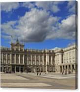 Royal Palace Of Madrid Spain Canvas Print
