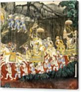Royal Palace Ramayana 11 Canvas Print