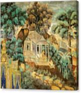 Royal Palace Ramayana 12 Canvas Print