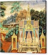 Royal Palace Ramayana 13 Canvas Print