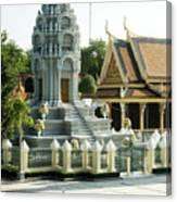 Royal Palace Shrine 02  Canvas Print