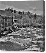 Royal River 0156 Canvas Print