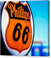 Rt. 66 Gas Pump Canvas Print