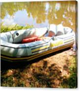 Rubber Boat 1 Canvas Print