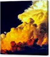 Rubber Ducky Elephant Clouds  Canvas Print