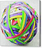 Rubberband Ball I Canvas Print