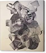 Rubberband Canvas Print