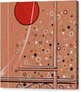 Rubby Moon Canvas Print