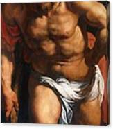 Rubens Descent From The Cross Detail Outside Left Peter Paul Rubens Canvas Print