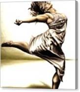 Rubinesque Dancer Canvas Print