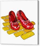 Ruby Slippers The Wizard Of Oz  Canvas Print