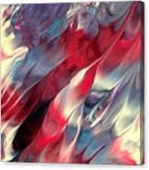 Ruby Velvet Canvas Print