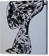 Rude Boy B/w Canvas Print