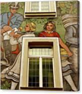 Rudesheim Mural Canvas Print
