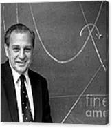 Rudolph Marcus, American Chemist Canvas Print