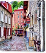 Rue Du Cul De Sac Canvas Print