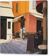 Rue En Nice Canvas Print