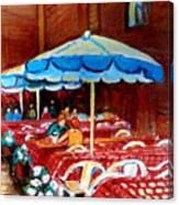 Rue Prince Arthur Canvas Print