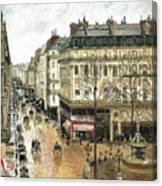 Rue Saint Honore Canvas Print