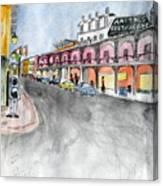 Rue St. Louis Canvas Print
