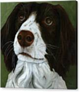 Rueger - Dog Portrait Oil Painting Canvas Print
