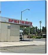 Rufino's Tire Center Canvas Print
