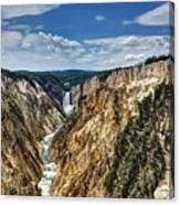 Rugged Lower Yellowstone Canvas Print