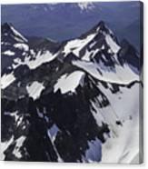 Rugged Mountain Peaks Canvas Print