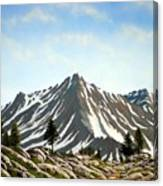 Rugged Peaks Canvas Print