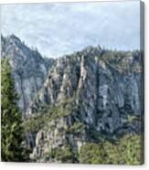 Rugged Valley Walls Canvas Print