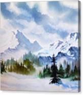 Rugged Wild Canvas Print