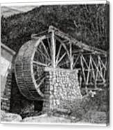 Ruidoso Waterwheel Canvas Print