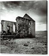Ruin  Of A Church On The Island Of Skye, Scotland Canvas Print
