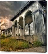 Ruins At Dusk Canvas Print