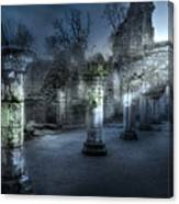 Ruins Of Abbey Canvas Print
