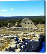 Ruins Of Gran Quivira  Canvas Print