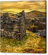 Ruins Of Snowdonia Panorama Canvas Print