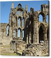 Ruins Of Whitby Abbey Canvas Print