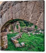Ruins Of White's Factory - Keystone Canvas Print