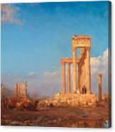 Ruins. Palmyra Canvas Print