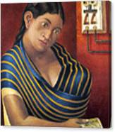 Ruiz: Lottery Ticket Seller Canvas Print