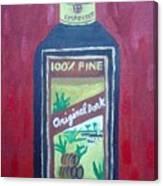 Rum Canvas Print