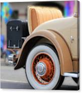 Rumble Seat Canvas Print