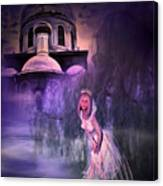 Runaway Bride Canvas Print