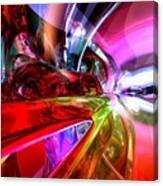 Runaway Color Abstract Canvas Print