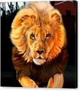 Running Lion Canvas Print