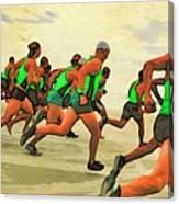 Running Start Canvas Print