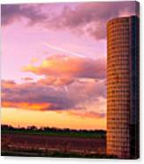 Rural Boulder County Sunset Canvas Print