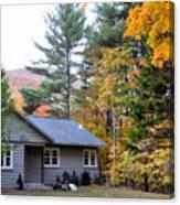Rural Colorful Autumn Landscape 3 Canvas Print